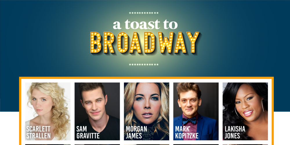 Picture collage of Broadway Stars
