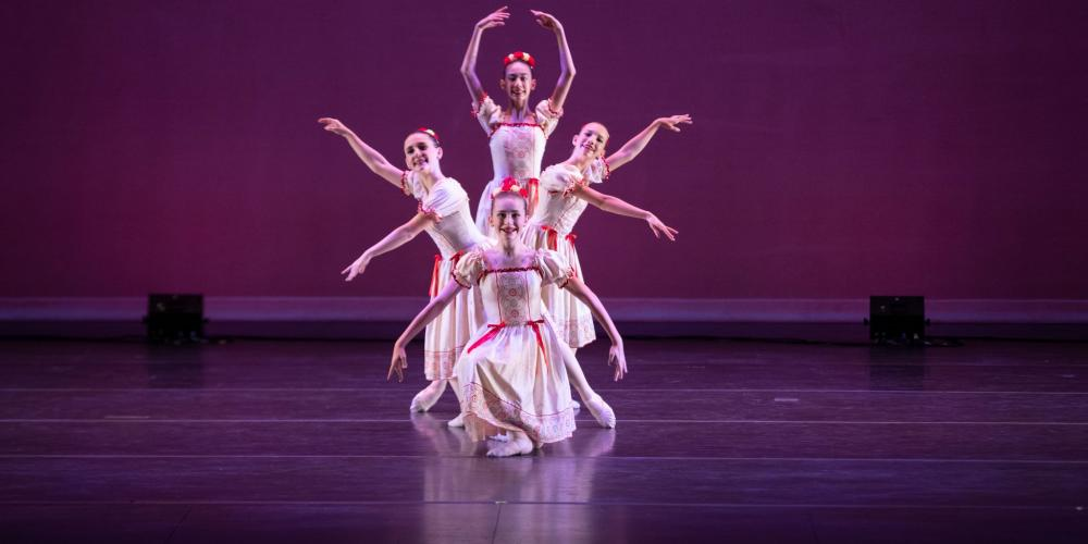 Ballet Etudes Chinese Tea