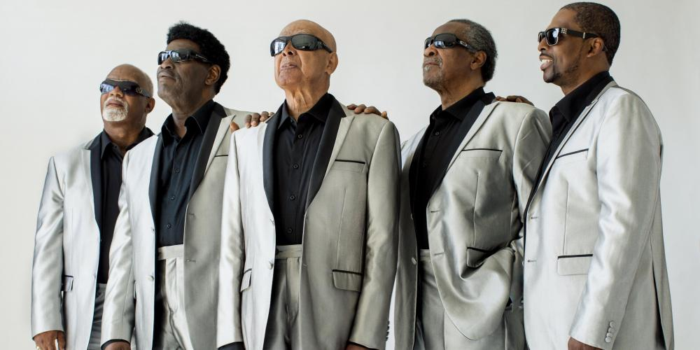 The Blind Boys perform a rousing and uplifting concert of holiday standards