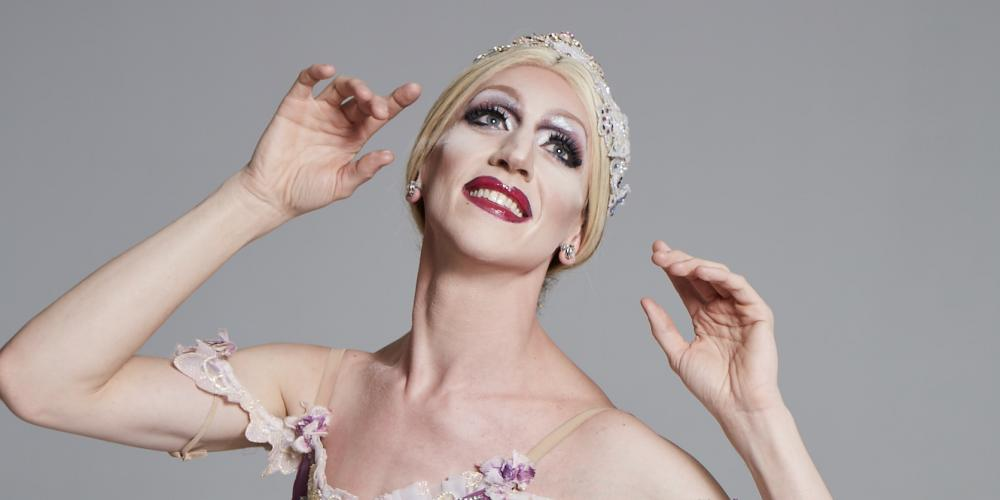 CCA virtual event makeup tutorial with Ballet Trockaderos