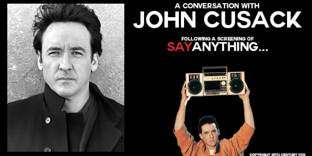 Live conversation and screening with John Cusack