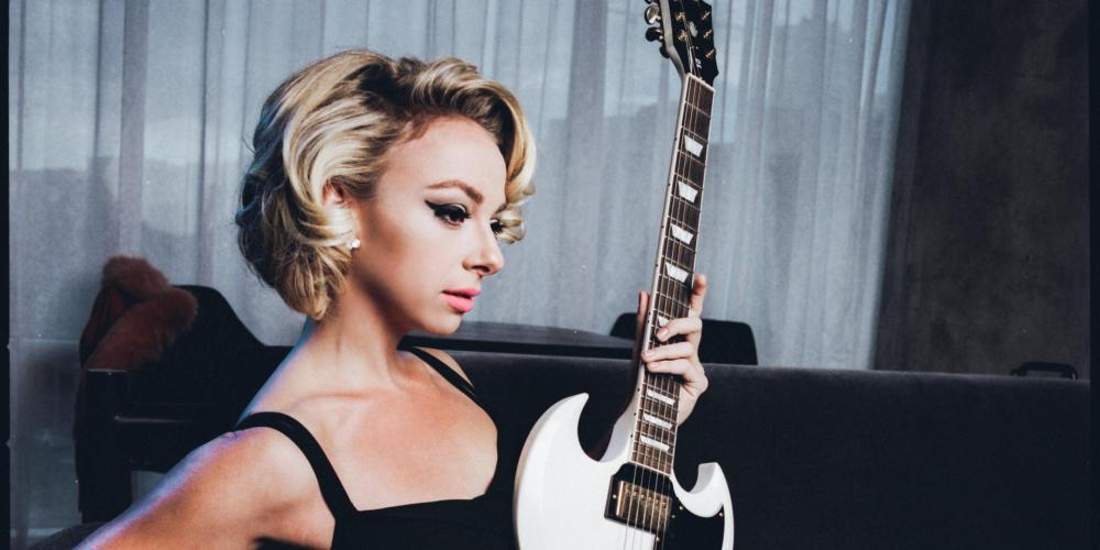 Marc Broussard and Samantha Fish at Chandler Center for the Arts on October 1