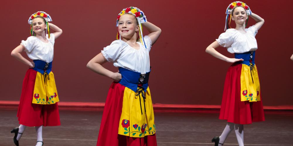 Students from the Ballet Etudes School of Dance Showcase