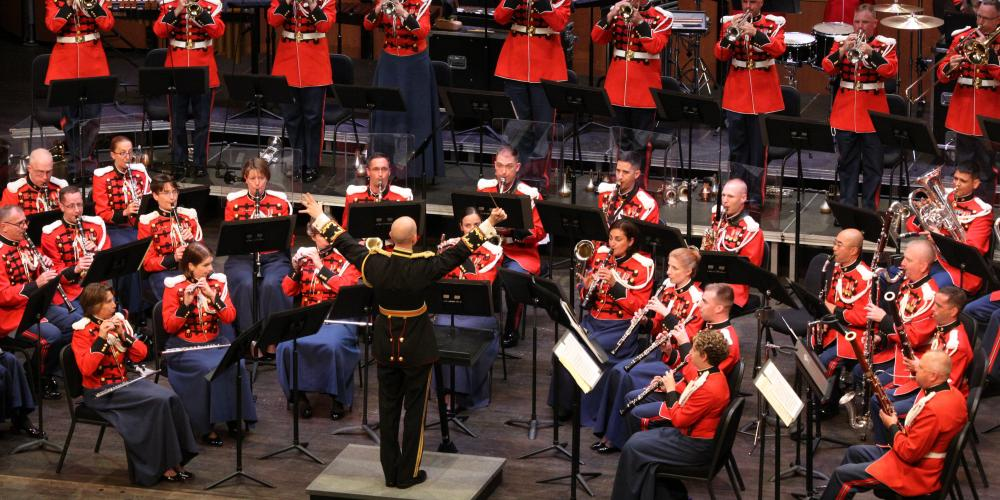 The President's Own United States Marine Band at Chandler Center for the Arts