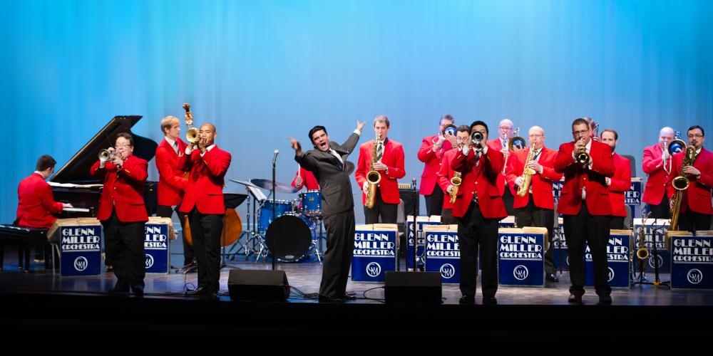 experience nostalgia and swing with the Glenn Miller Orchestra