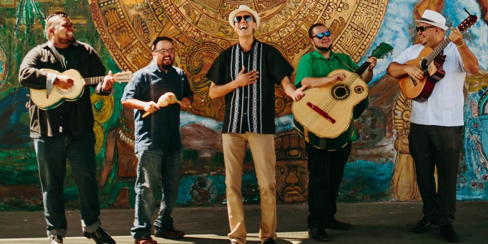 Jarabe Mexicano performs for youth at Chandler Center for the Arts
