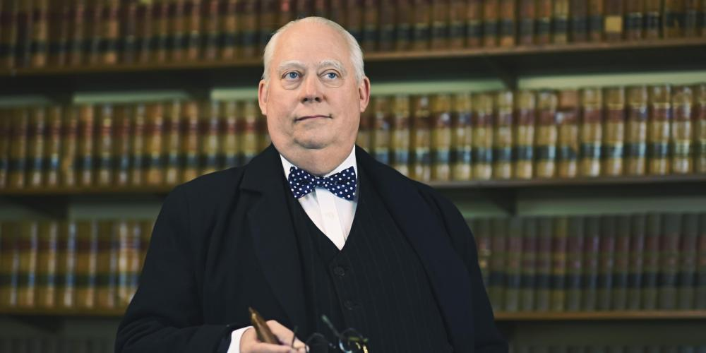 Winston Churchill: Man of the Century at Chandler Center for the Arts