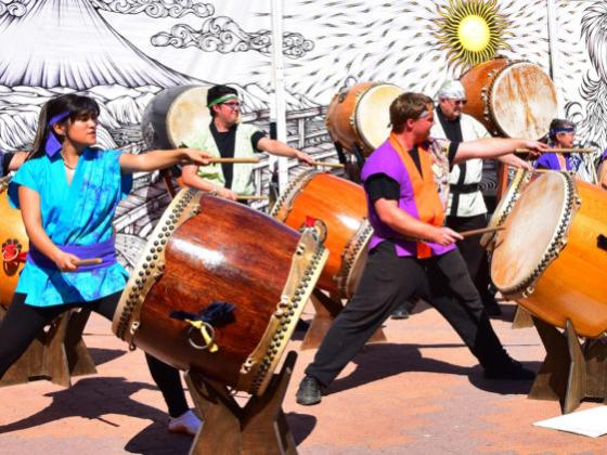 Fushicho Daiko virtual performance with the Chandler Center for the Arts