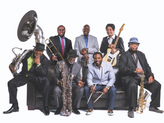 The Dirty Dozen Brass Band in Take Me To The River - New Orleans LIVE!
