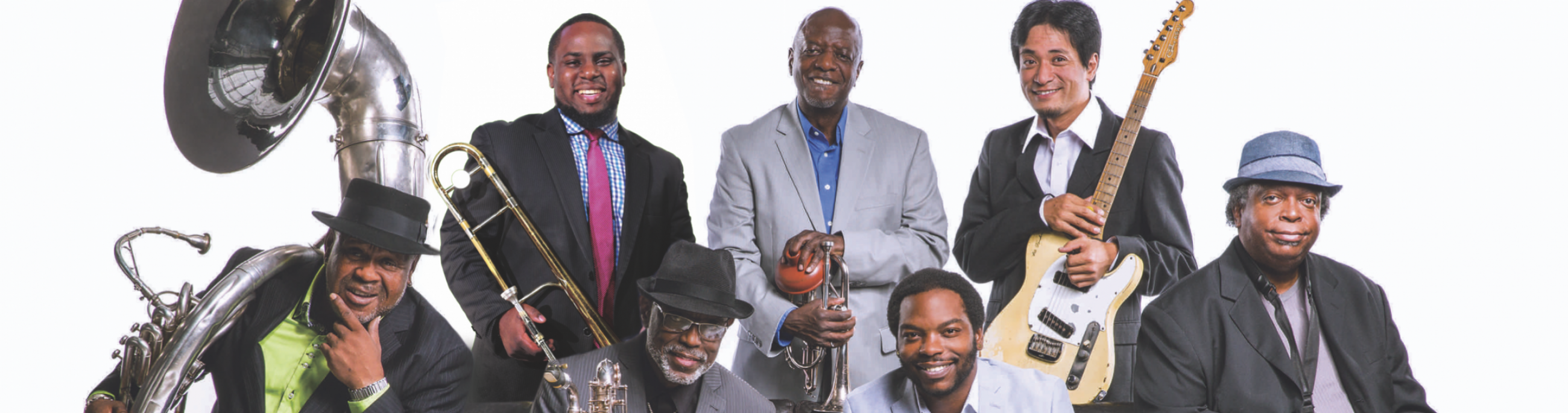 Dirty Dozen Brass Band, part of Take Me to the River - NOLA Live!