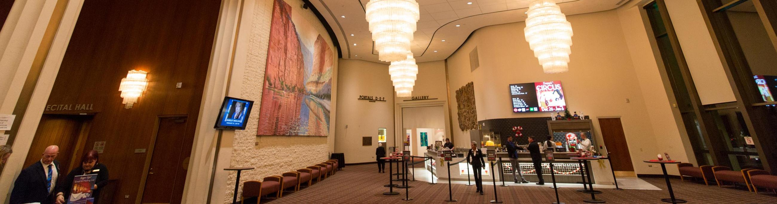 Chandler Center for the Arts has spaces the community and corporations can rent