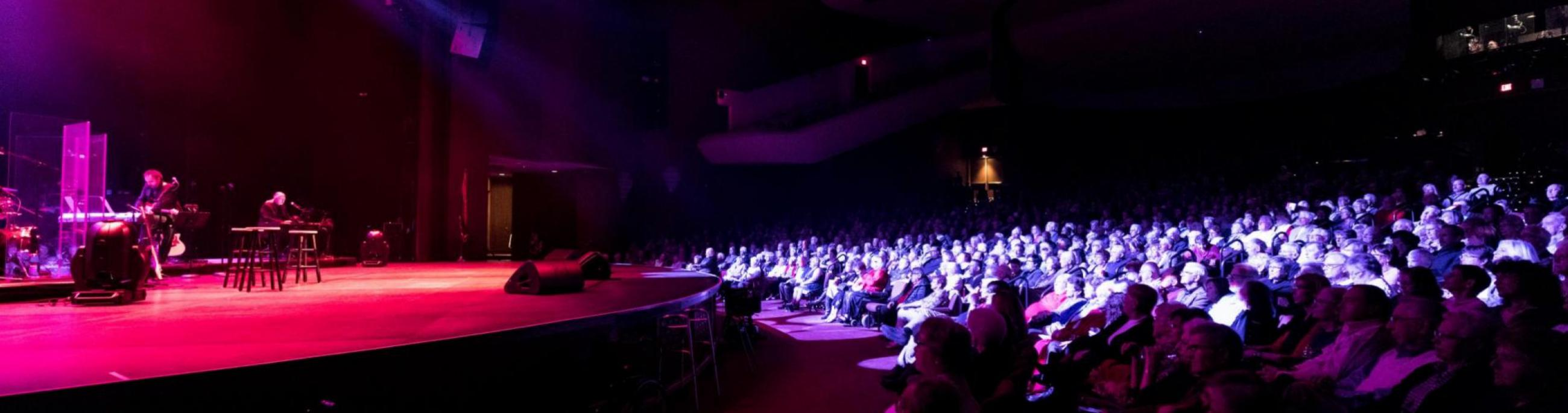 Mainstage accommodates largest shows with seating