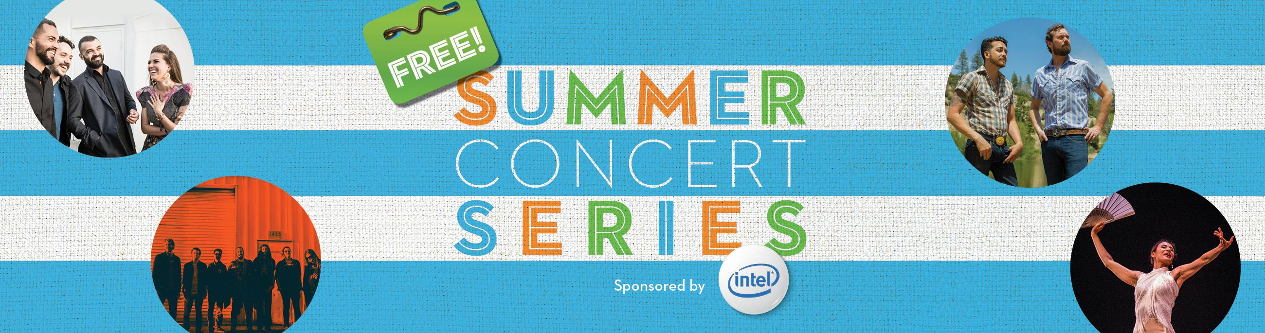 Free Summer Concert Series at Chandler Center for the Arts presented by Intel