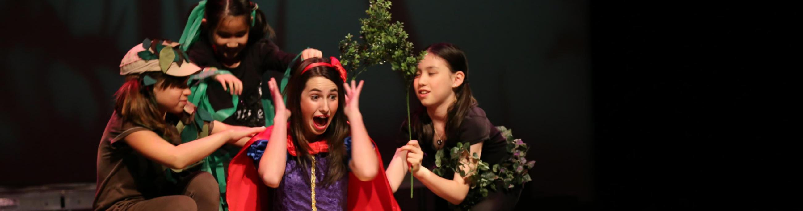Fall Kids Camp, production of Snow White