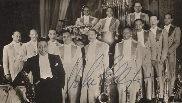 Duke Ellington and his Orchestra in 1935, Collection of the Smithsonian National Museum of African American History and Culture, 2015.97.38.5