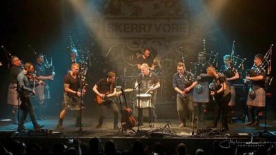 Scottish Band Playing Free St. Patrick's Day Show