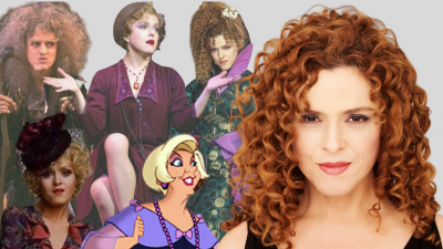 The many faces of Bernadette Peters