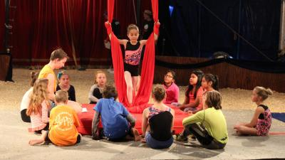 Kids can have a truly magical experience over the holiday season with a camp that gives them a peek into the circus world