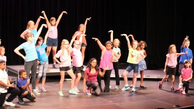 Musical theater camps taught by professional artists are offered during the summer to provide a creative camp experience.